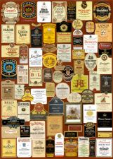 Some nice whisky labels